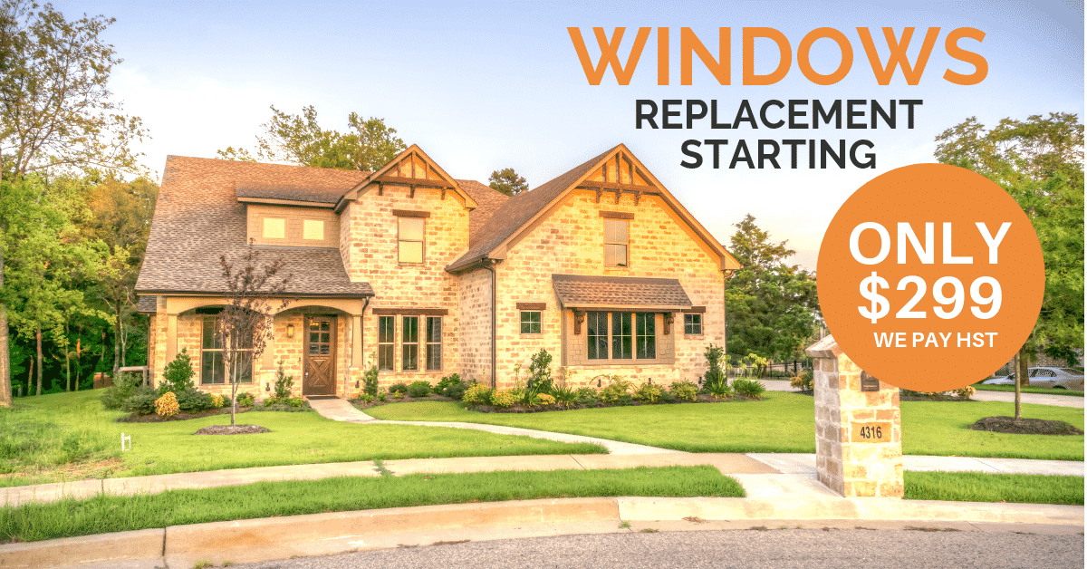 Affordable window replacement Mississauga